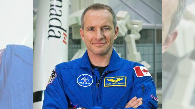 David Saint-Jacques will be the next Canadian astronaut in space