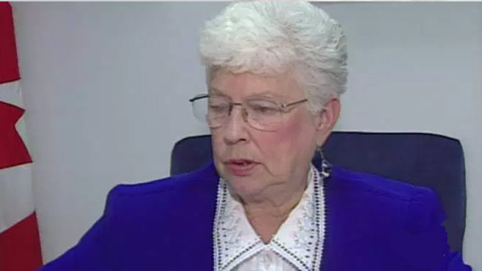 Former PC MP Elsie Wayne Finally Gets A Chance To Roll Over In Her Grave Over Party Merger