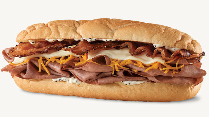 Arby's Canada Debuts New Three Cheese And Bacon Hand Warmer Sandwich