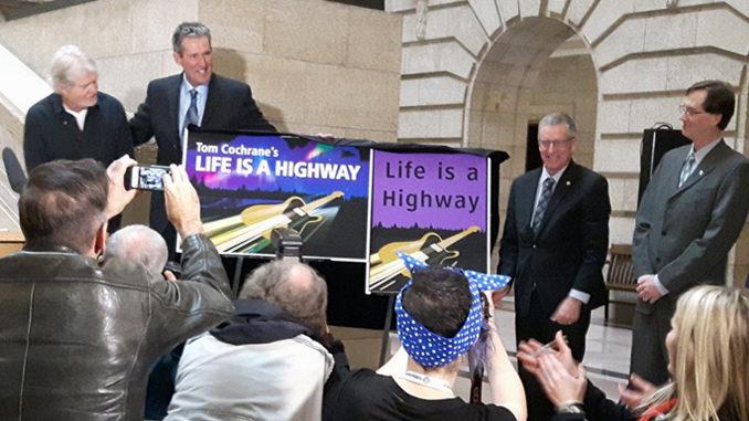 Tom Cochrane Gets Manitoba Highway Named After Him