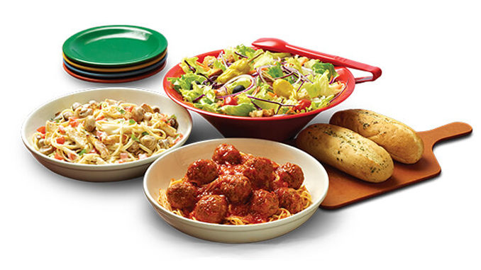 East Side Mario's Serving Up $29.99 Family Pasta Deal