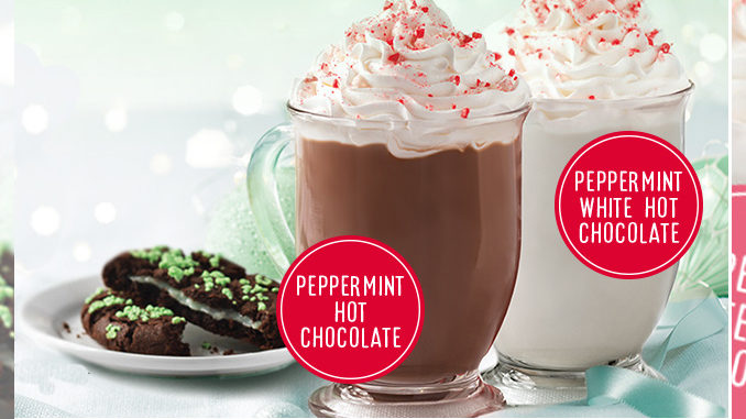 Tim Hortons Canada Unveils New Treats For 2016 Holiday Season