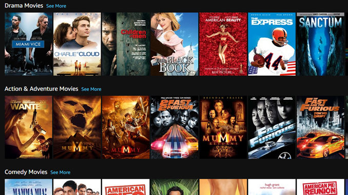 Review – Amazon Prime Video Canada