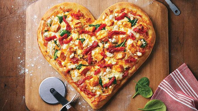 Boston Pizza Serves Up Heart-Shaped Pizza To Celebrate Valentine's Day 2017