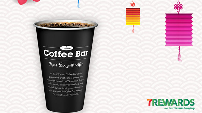Free Coffee At 7-Eleven Canada Through January 29, 2017