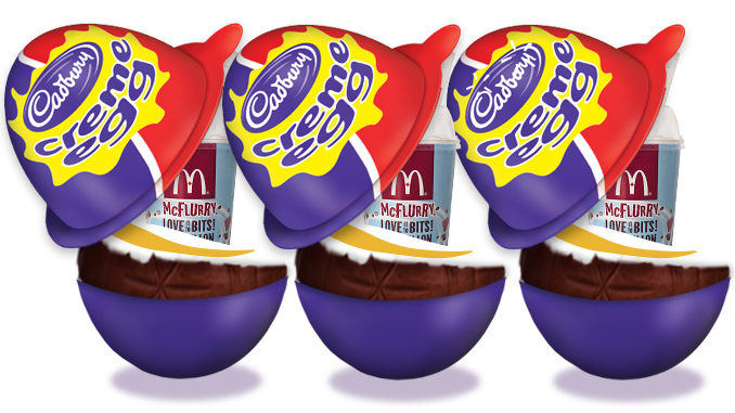 Cadbury Creme Egg McFlurry Returns To McDonald's Canada For 2017