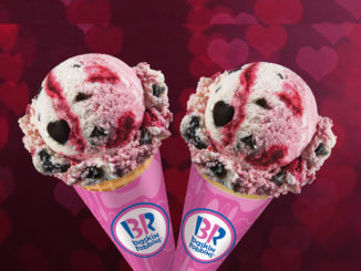 Love Potion #31 The Flavor Of The Month At Baskin-Robbins Canada For February, 2017