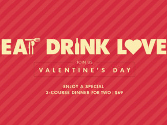 Moxie's Offers 3-Course 2017 Valentine's Day Dinner For 2 For $69