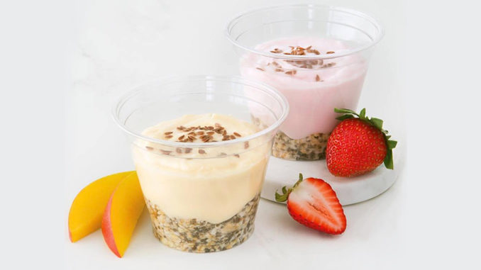Second Cup Serves Up New Overnight Oats