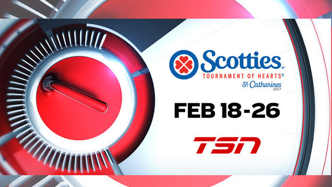 The 2017 Scotties Tournament Of Hearts Begins February 18, On TSN