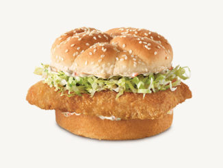 Arby's Canada Brings Back The Crispy Fish Sandwich