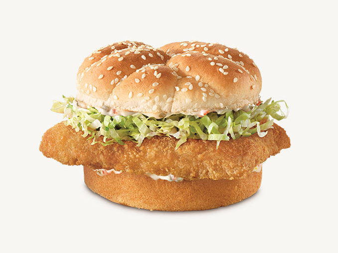 Arby s canada brings back the crispy fish sandwich canadify for Arby s fish sandwich