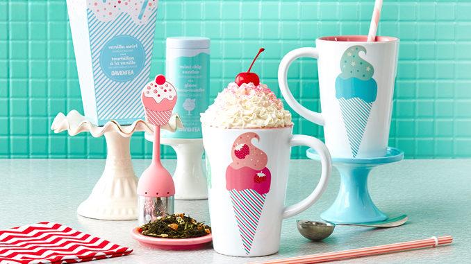 DAVIDsTEA Introduces New Malt Shop With Ice Cream-Inspired Teas