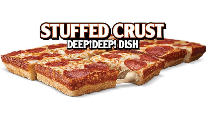Little Caesars Canada Debuts New Stuffed Crust Deep Deep Dish Pizza