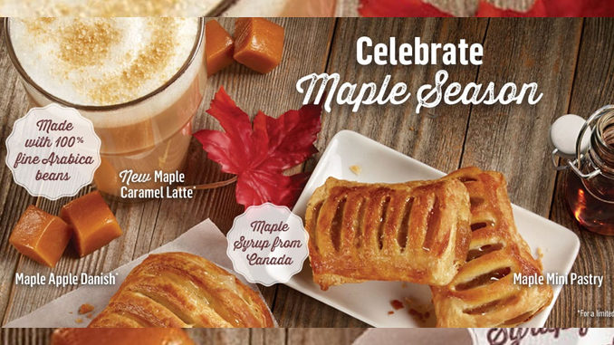 McDonald's Canada Celebrates Maple Season With New Maple Caramel Latte
