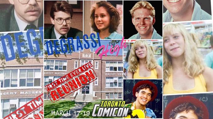 Original 'Degrassi' Actors To Reunite At ComiCon In Toronto