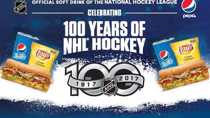 Pepsi Offers 100 Years Of NHL Hockey At Subway Contest