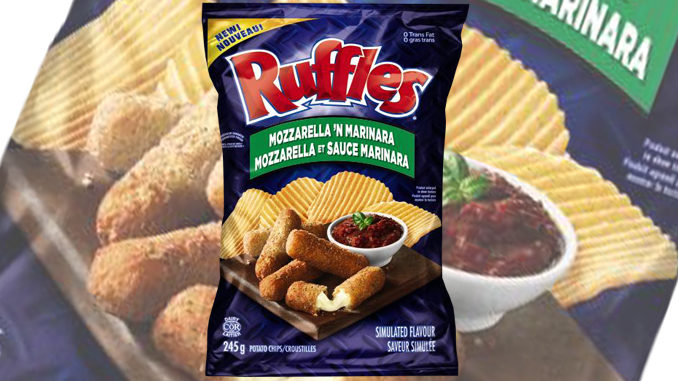Ruffles Canada Unveils New Mozzarella 'N Marinara Potato Chips