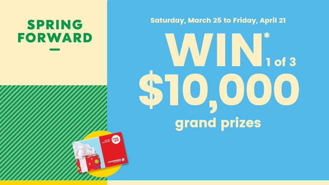 Shoppers Drug Mart Offers 2017 Spring Forward Contest Through April 21
