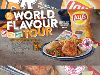 Swiss Chalet Offers New $12.99 World Flavour Tour Promotion