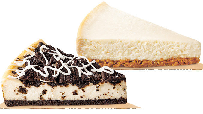 Burger King Canada Offers New Oreo Cookie Cheesecake and New York Style Cheesecake
