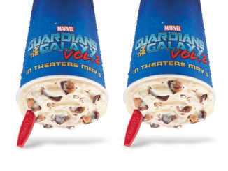 Guardians Awesome Mix Blizzard Is Dairy Queen Canada's Blizzard Of The Month For May 2017
