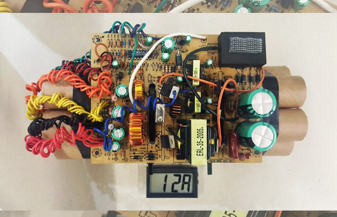 Image Of Mock IED Seized At Pearson Airport Released By US Customs