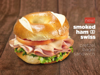 Robin's Donuts Launches New Smoked Ham And Swiss Pretzel Bagel Sandwich