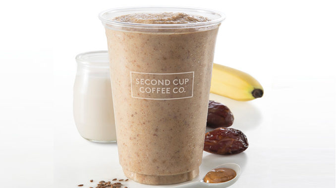 Second Cup Introduces New Almond Date Smoothie
