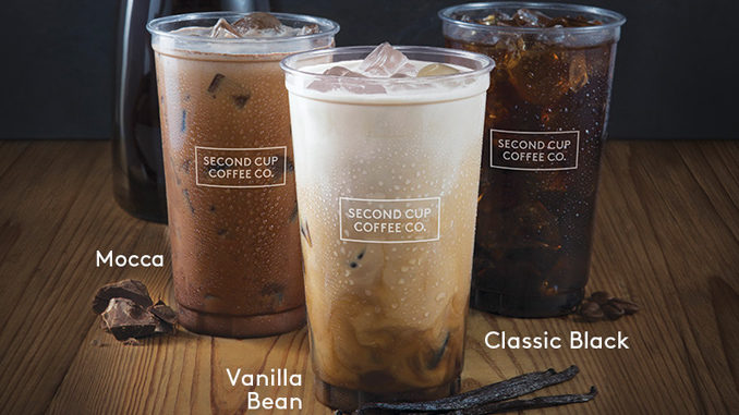 Second Cup Introduces New Flash Cold Brew Coffee