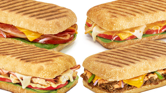 Subway Canada Introduces New Panini Sandwiches