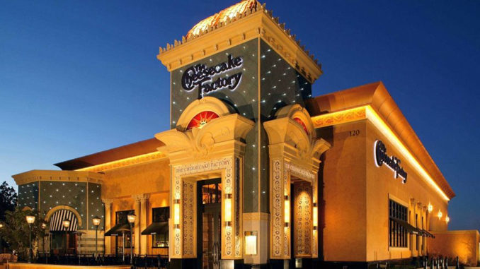 The Cheesecake Factory Is Coming To Canada