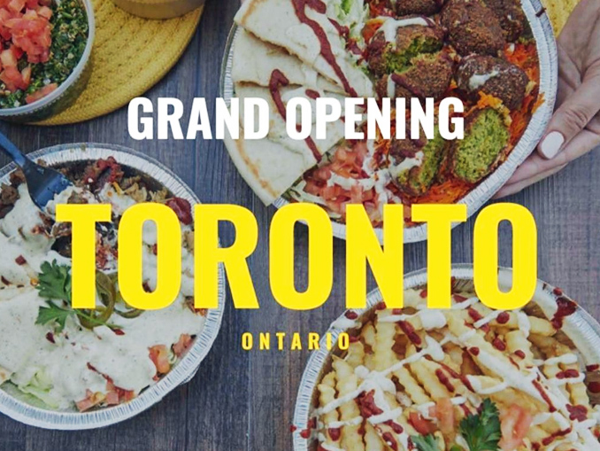 The halal guys opening in toronto on may 5 2017 canadify for Fast food open on thanksgiving 2017
