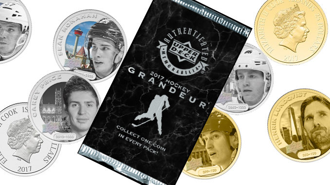 Upper Deck Unveils New Grandeur Hockey Coin Collection