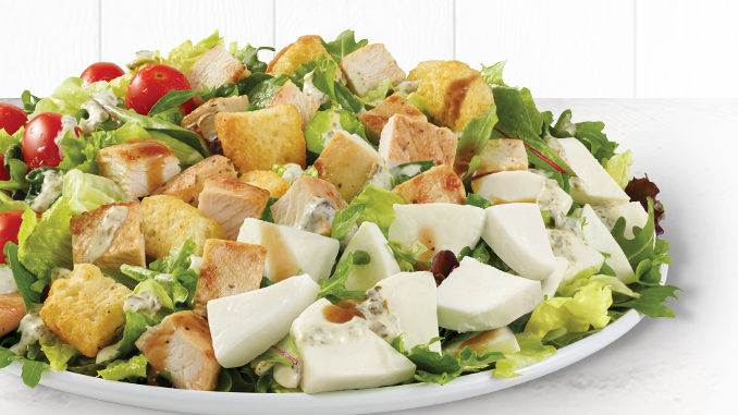 Wendy's Canada Launches New Fresh Mozzarella Chicken Salad