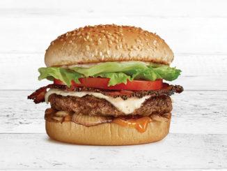 A&W Canada Brings Back The Smoky BBQ Teen Burger