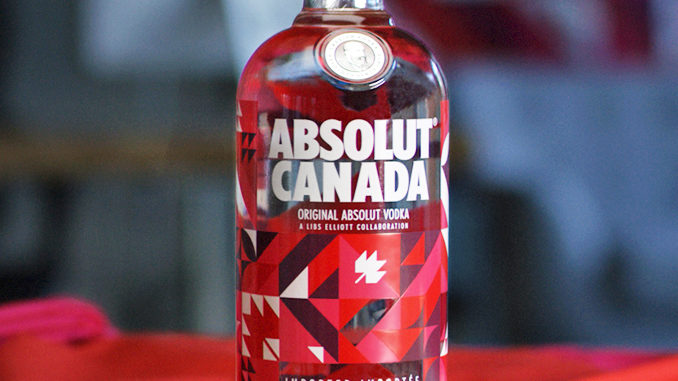 Absolut Vodka Celebrates Canada 150 With Limited-Edition Bottle