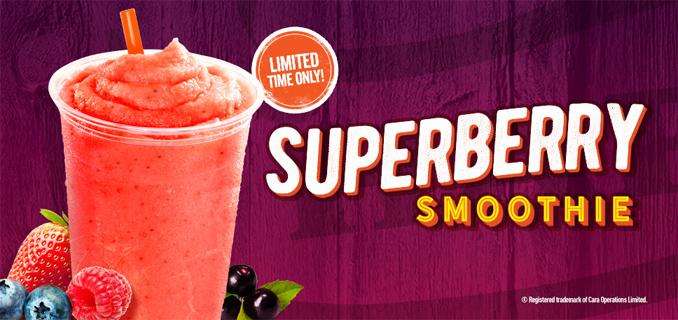 Harvey's Superberry Smoothie