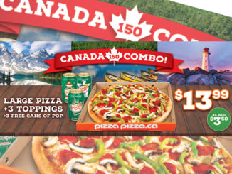 Pizza Pizza Offers New Canada 150 Combo