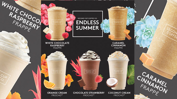 Second Cup Serves Up 2017 Endless Summer Drinks Menu