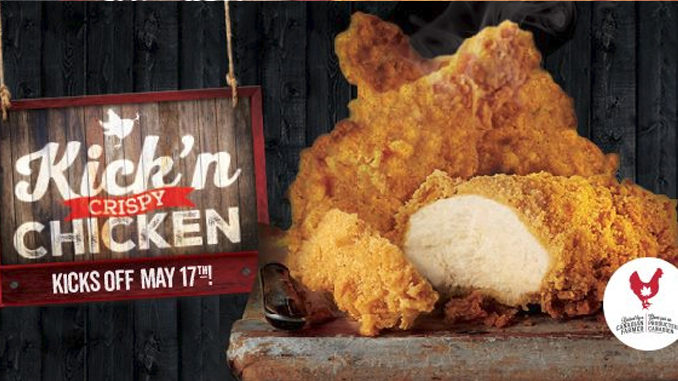 Swiss Chalet Unveils New Kick'n Crispy Chicken