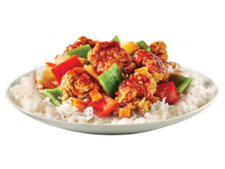 Thaï Express Serves Up New General ThaiRacha Sweet Sriracha Chicken