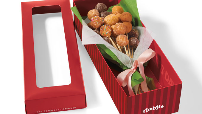 Tim Hortons USA Has A Timbits Donut Bouquet Exclusively For Mother's Day
