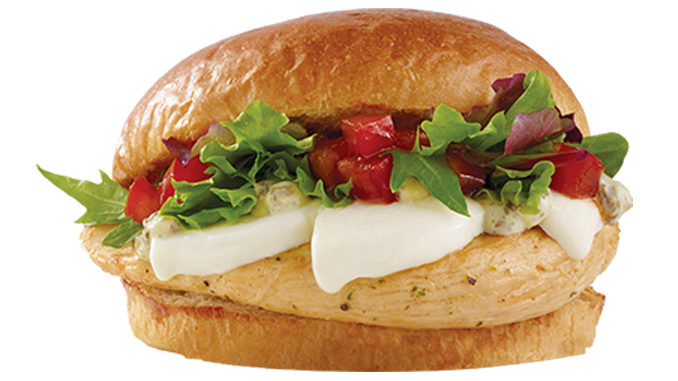 Wendy's Canada Launches New Fresh Mozzarella Chicken Sandwich