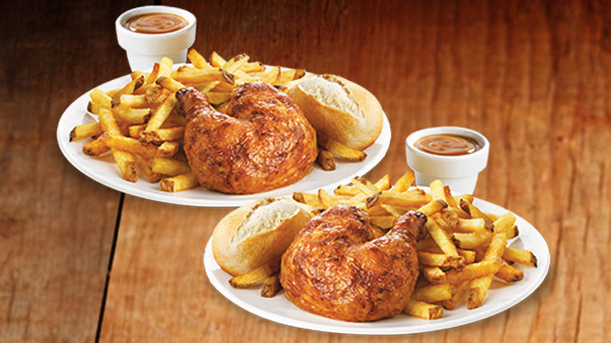 2 Can Dine For $14.99 At Swiss Chalet Trough June 25, 2017