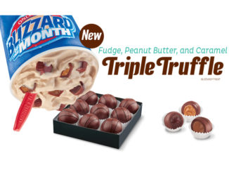 Dairy Queen Canada Launches New Triple Truffle Blizzard
