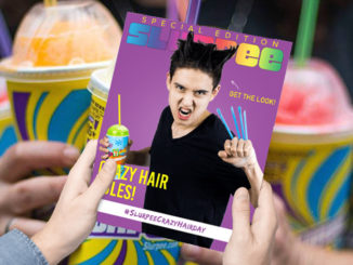 Free Slurpees At 7-Eleven Canada During Crazy Hair Day On June 16, 2017