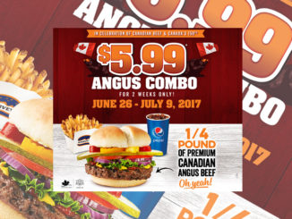 Harvey's Offers $5.99 Angus Combo Deal Through July 9, 2017