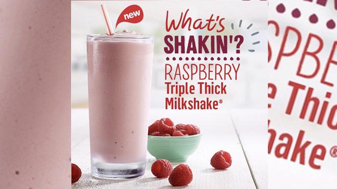 McDonald's Canada Debuts New Raspberry Triple Thick Milkshake