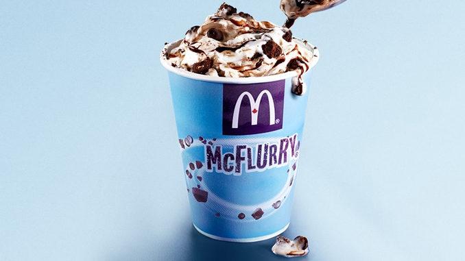 McDonald's Canada Introduces New Mud Pie McFlurry